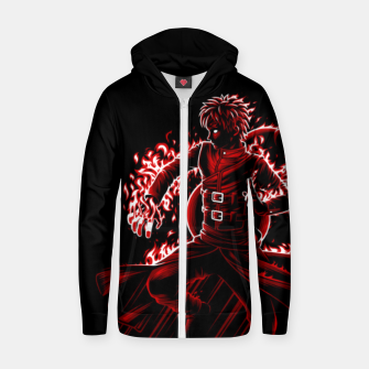 Thumbnail image of Sand of fire Sudadera con capucha y cremallera , Live Heroes