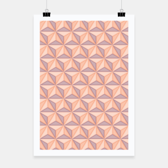 Thumbnail image of Geometric Pattern Poster, Live Heroes