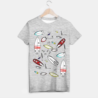 Surfboards 4 All T-shirt regular obraz miniatury