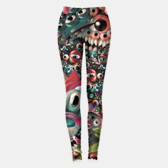 Miniature de image de Monster World Leggings, Live Heroes
