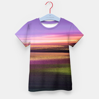 Thumbnail image of Northern lights Kid's t-shirt, Live Heroes