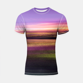 Thumbnail image of Northern lights Shortsleeve rashguard, Live Heroes