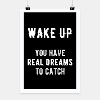 Thumbnail image of Inspirational - Wake Up! Poster, Live Heroes