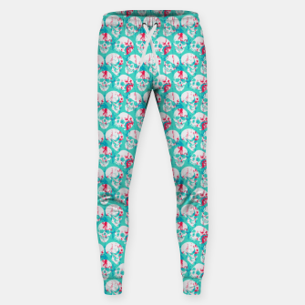 Thumbnail image of Skulls Pattern Sweatpants, Live Heroes