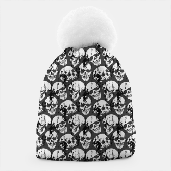 Thumbnail image of Skulls Pattern Beanie, Live Heroes