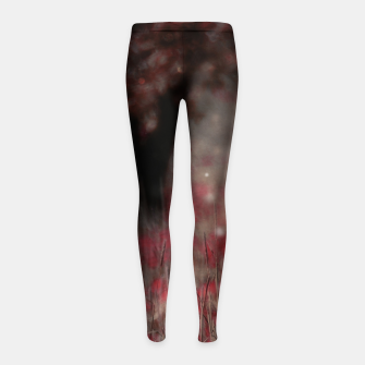 Miniatur Summer night's dream Girl's leggings, Live Heroes