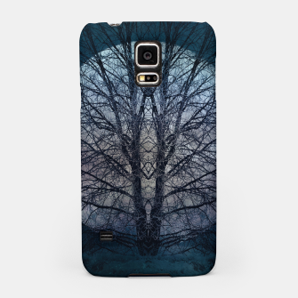Miniatur Tree of knowledge blue Samsung Case, Live Heroes