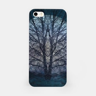 Miniatur Tree of knowledge blue iPhone Case, Live Heroes