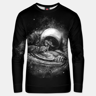 Thumbnail image of Space Junkie Unisex sweater, Live Heroes