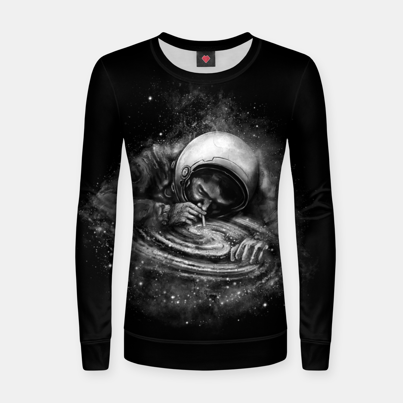 Image of Space Junkie Women sweater - Live Heroes