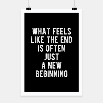 Thumbnail image of Inspirational - New Beginning Poster, Live Heroes