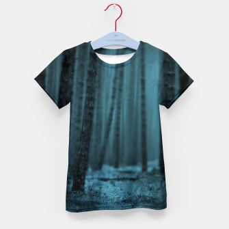 Thumbnail image of Midnight Forest T-Shirt für kinder, Live Heroes