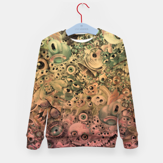 Miniature de image de Washed Monster World Kid's sweater, Live Heroes