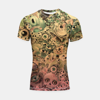 Miniature de image de Washed Monster World Shortsleeve rashguard, Live Heroes