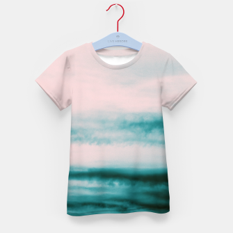 Thumbnail image of Ocean Romance #1 #abstract #decor #art T-Shirt für kinder, Live Heroes