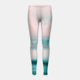Thumbnail image of Ocean Romance #1 #abstract #decor #art Kinder-Leggins, Live Heroes