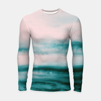 Thumbnail image of Ocean Romance #1 #abstract #decor #art Longsleeve rashguard, Live Heroes