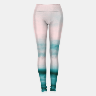 Thumbnail image of Ocean Romance #1 #abstract #decor #art Leggings, Live Heroes