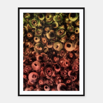 Miniature de image de Monsters Eye Party Washed Framed poster, Live Heroes