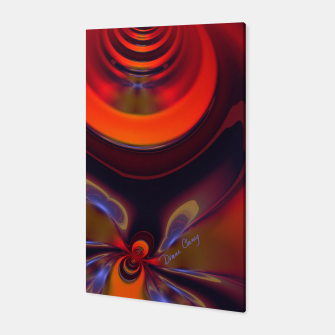 Thumbnail image of Amber Goddess  - Orange and Gold Passion Canvas, Live Heroes