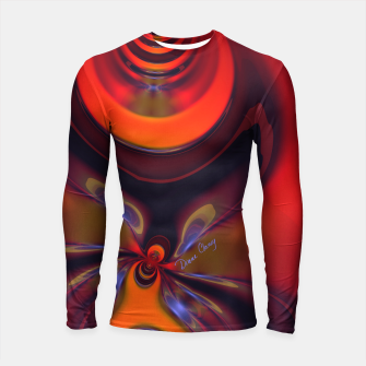 Thumbnail image of Amber Goddess  - Orange and Gold Passion Longsleeve rashguard , Live Heroes