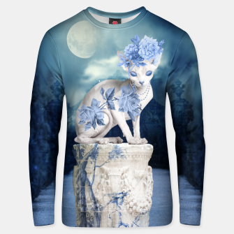 Thumbnail image of Porcelain Sphynx Unisex sweater, Live Heroes