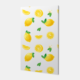 Thumbnail image of Bittersweet Mellow Bright Yellow Lemon Canvas, Live Heroes