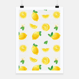 Thumbnail image of Bittersweet Mellow Bright Yellow Lemon Poster, Live Heroes