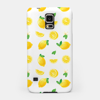 Thumbnail image of Bittersweet Mellow Bright Yellow Lemon Samsung Case, Live Heroes