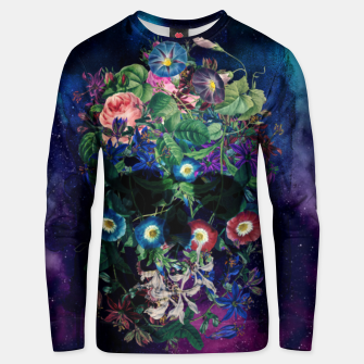 Thumbnail image of Colorful Skull Unisex sweater, Live Heroes