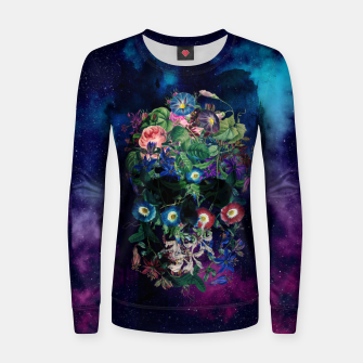 Colorful Skull Women sweater Bild der Miniatur