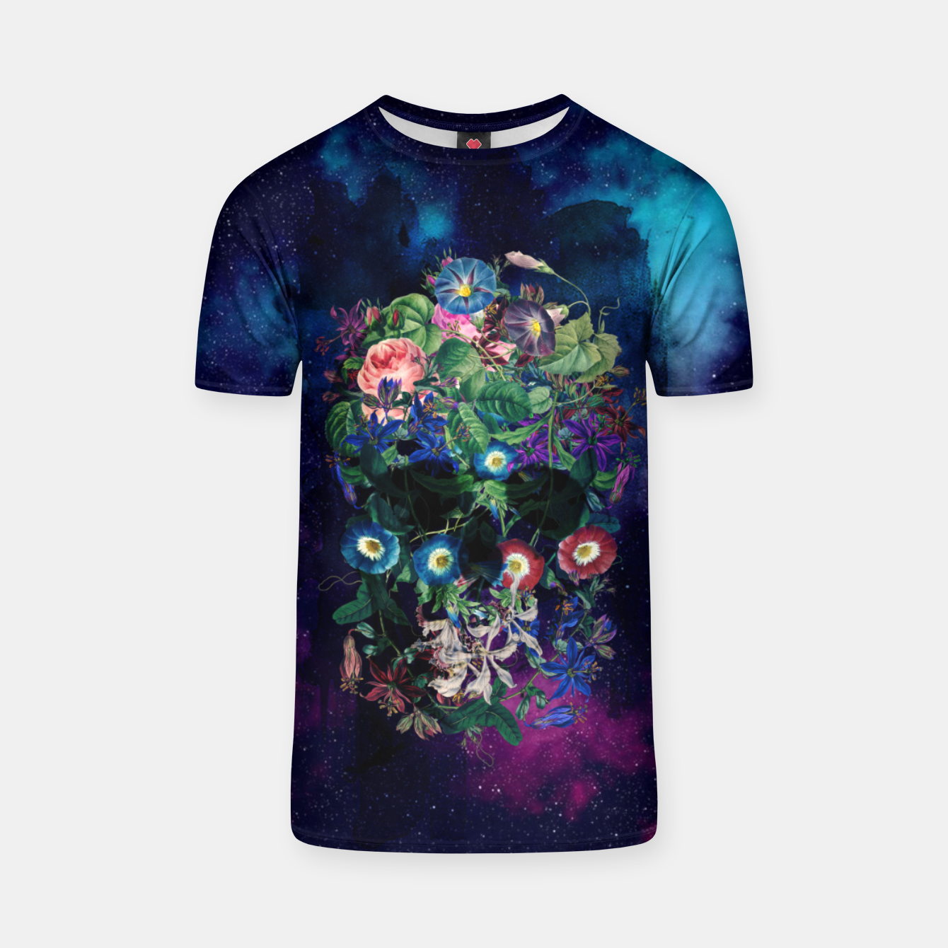 Foto Colorful Skull T-shirt - Live Heroes