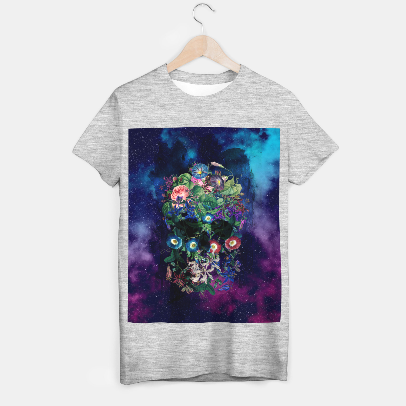 Foto Colorful Skull T-shirt regular - Live Heroes