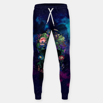Colorful Skull Sweatpants Bild der Miniatur