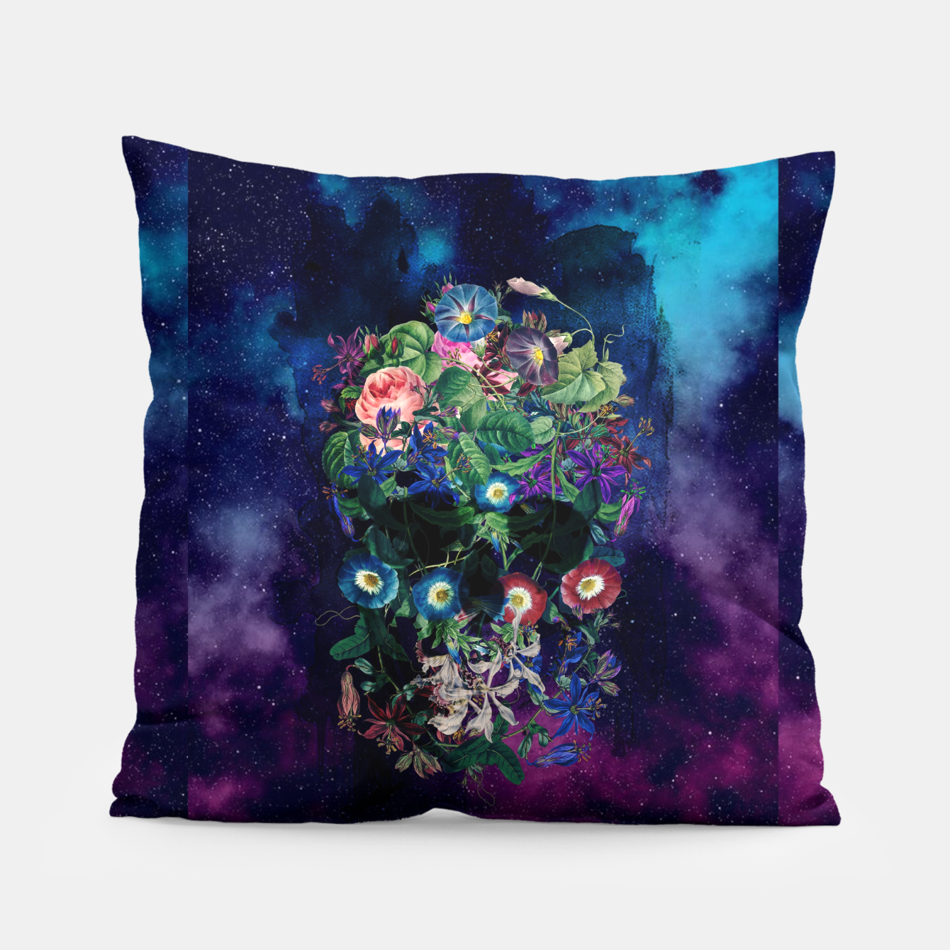 Foto Colorful Skull Pillow - Live Heroes