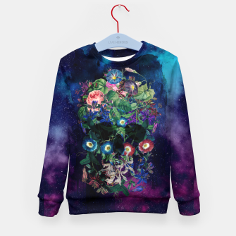 Colorful Skull Kid's sweater Bild der Miniatur