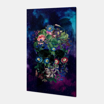 Colorful Skull Canvas Bild der Miniatur