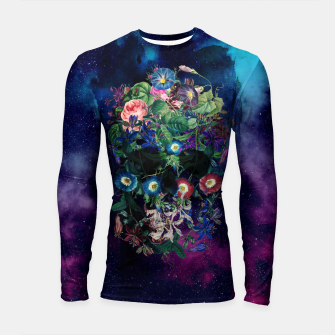 Colorful Skull Longsleeve rashguard  miniature