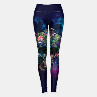 Colorful Skull Leggings Bild der Miniatur
