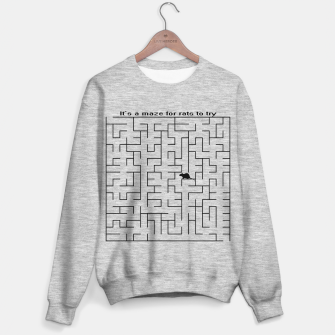 Thumbnail image of It's a maze for rats to try  Sweater regular, Live Heroes