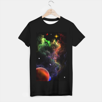 Thumbnail image of Planetoids In The Nebula Cluster T-shirt regular, Live Heroes