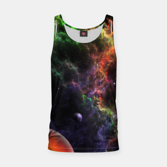 Thumbnail image of Planetoids In The Nebula Cluster Tank Top, Live Heroes