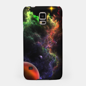 Thumbnail image of Planetoids In The Nebula Cluster Samsung Case, Live Heroes