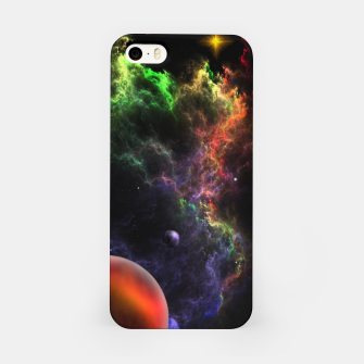 Thumbnail image of Planetoids In The Nebula Cluster iPhone Case, Live Heroes