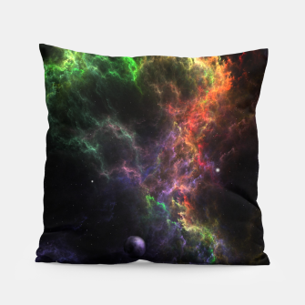 Thumbnail image of Planetoids In The Nebula Cluster Pillow, Live Heroes