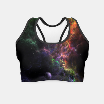 Thumbnail image of Planetoids In The Nebula Cluster Crop Top, Live Heroes