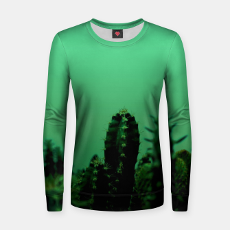Thumbnail image of Cactus Dream Women sweater, Live Heroes