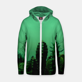 Thumbnail image of Cactus Dream Zip up hoodie, Live Heroes