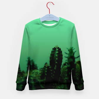 Thumbnail image of Cactus Dream Kid's sweater, Live Heroes