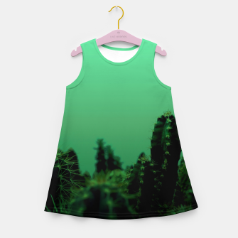 Thumbnail image of Cactus Dream Girl's summer dress, Live Heroes